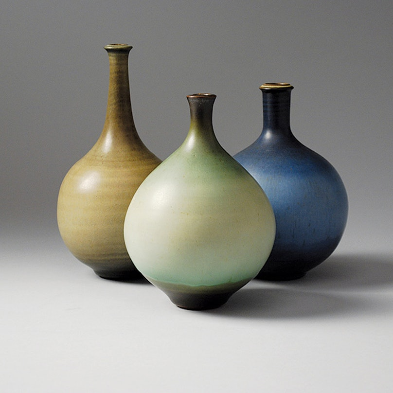 Harrison McIntosh's Three Bottle Vase