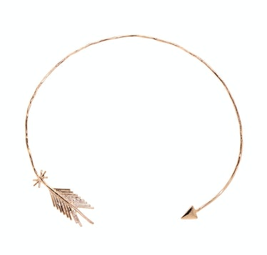 Pascale Monvoisin rose gold plated collar