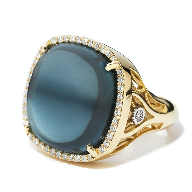 Tacori gold ring
