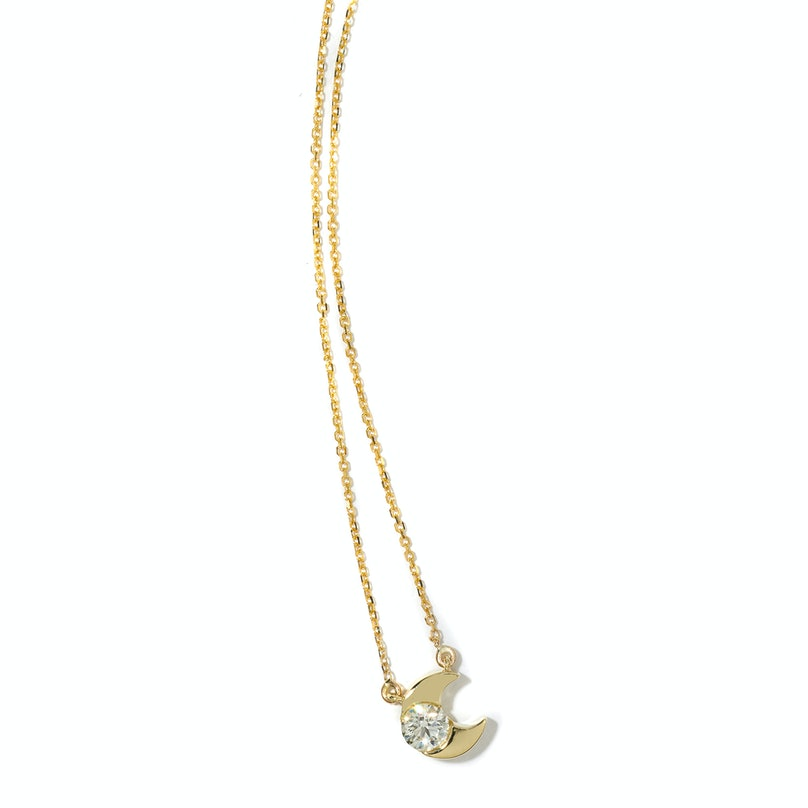 Hearts On Fire gold and diamond necklace