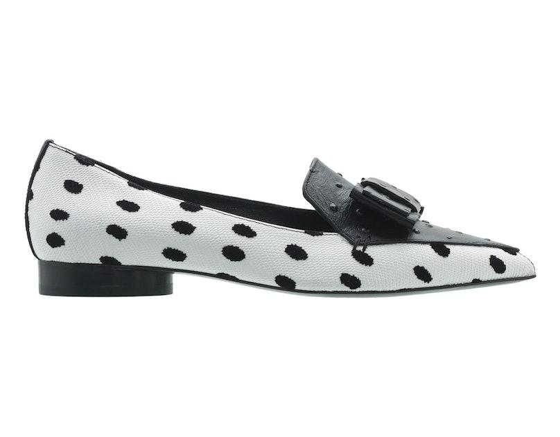 Nicholas Kirkwood for Erdem loafers