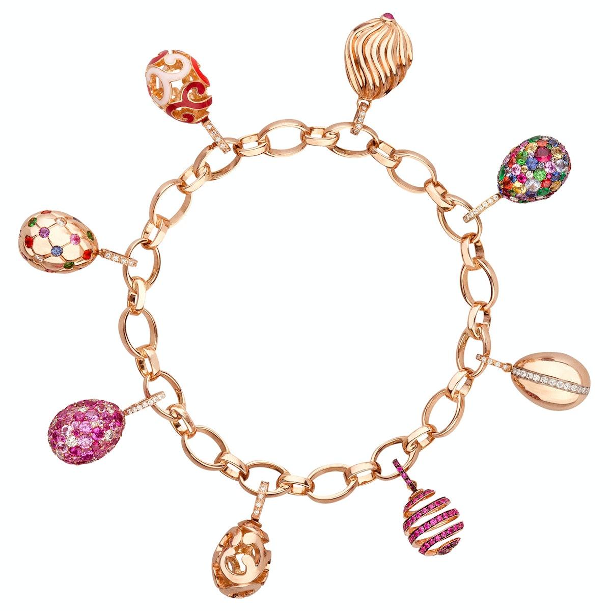Fabergé gold bracelet