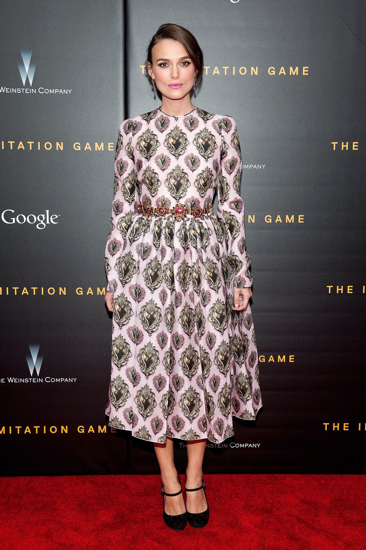 Keira Knightley in Dolce and Gabbana