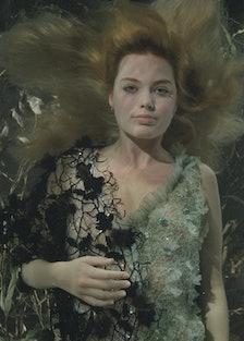 Margot Robbie Shot by Bill Viola