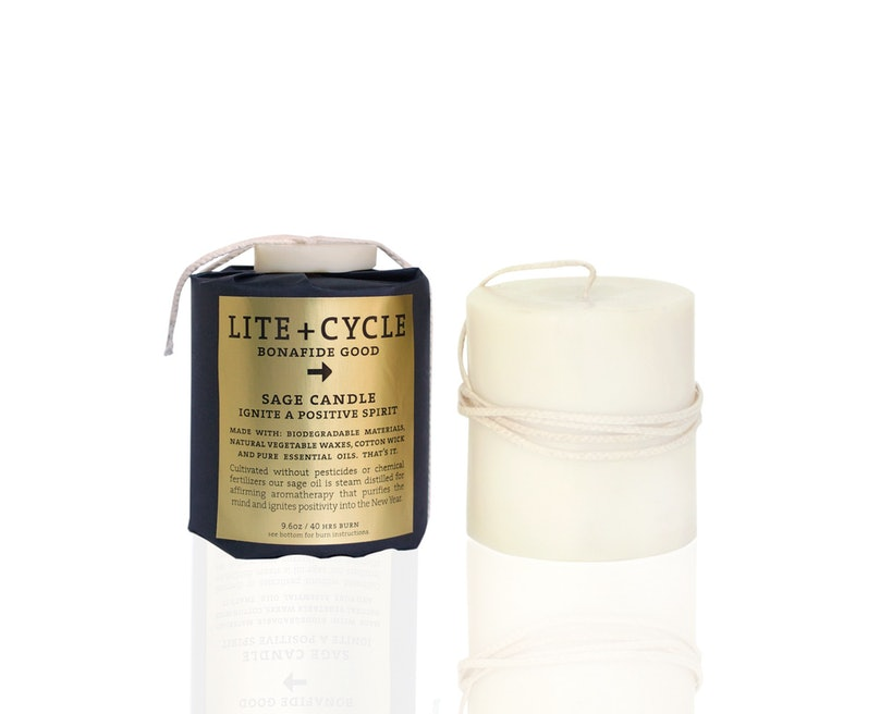 Lite + Cycle Sage Candle