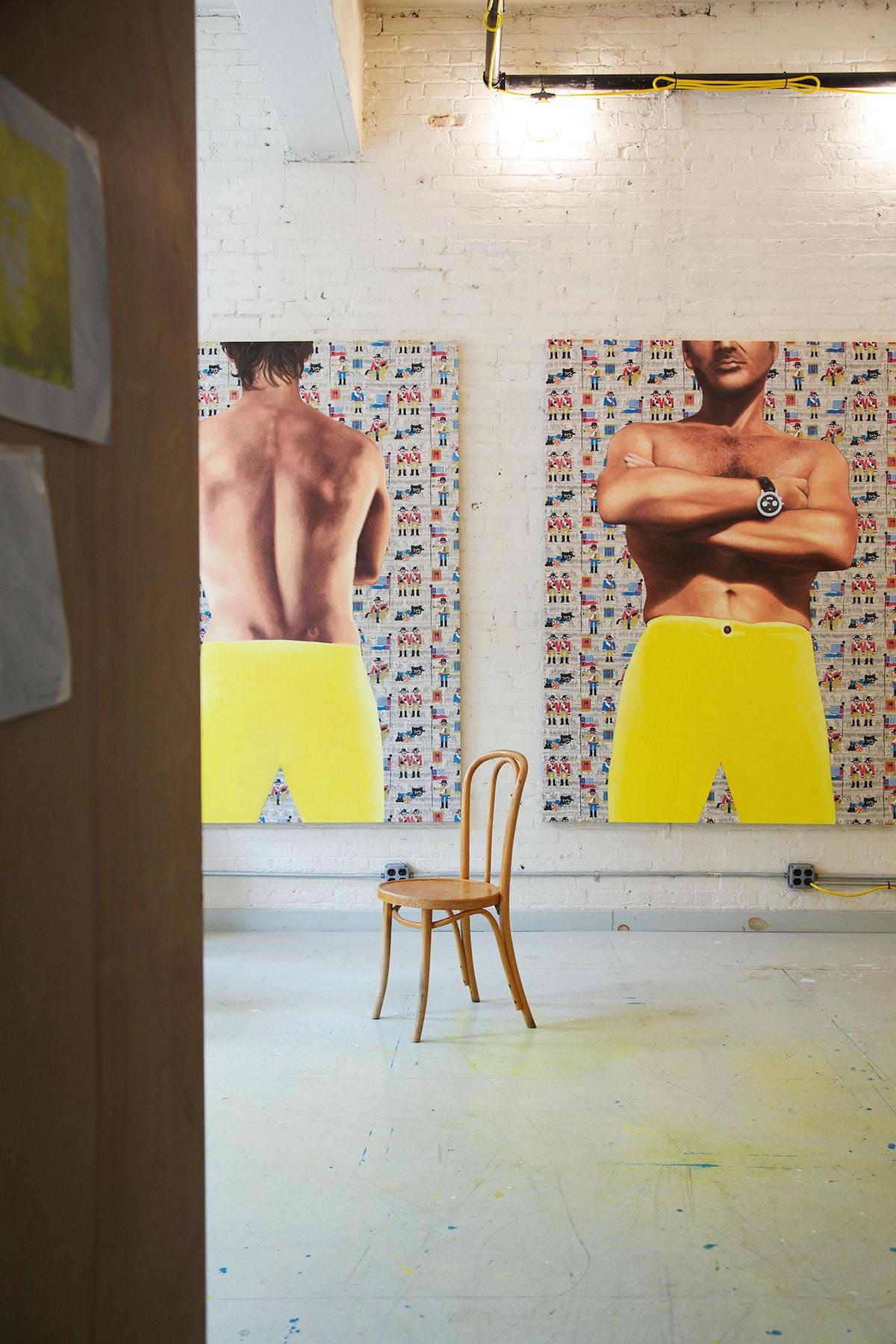 Jack Early Studio Visit