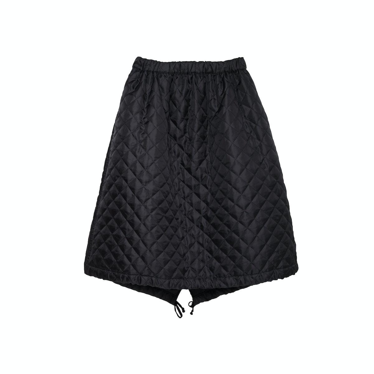 Comme des Garçons Shirt Girl quilted skirt