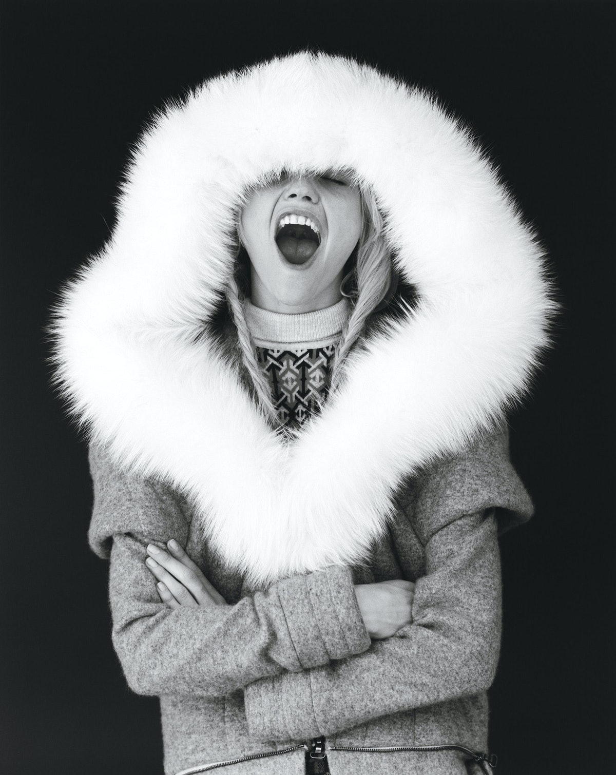 Photo by Bruce Weber, styled by Alex White; W Magazine July 2008