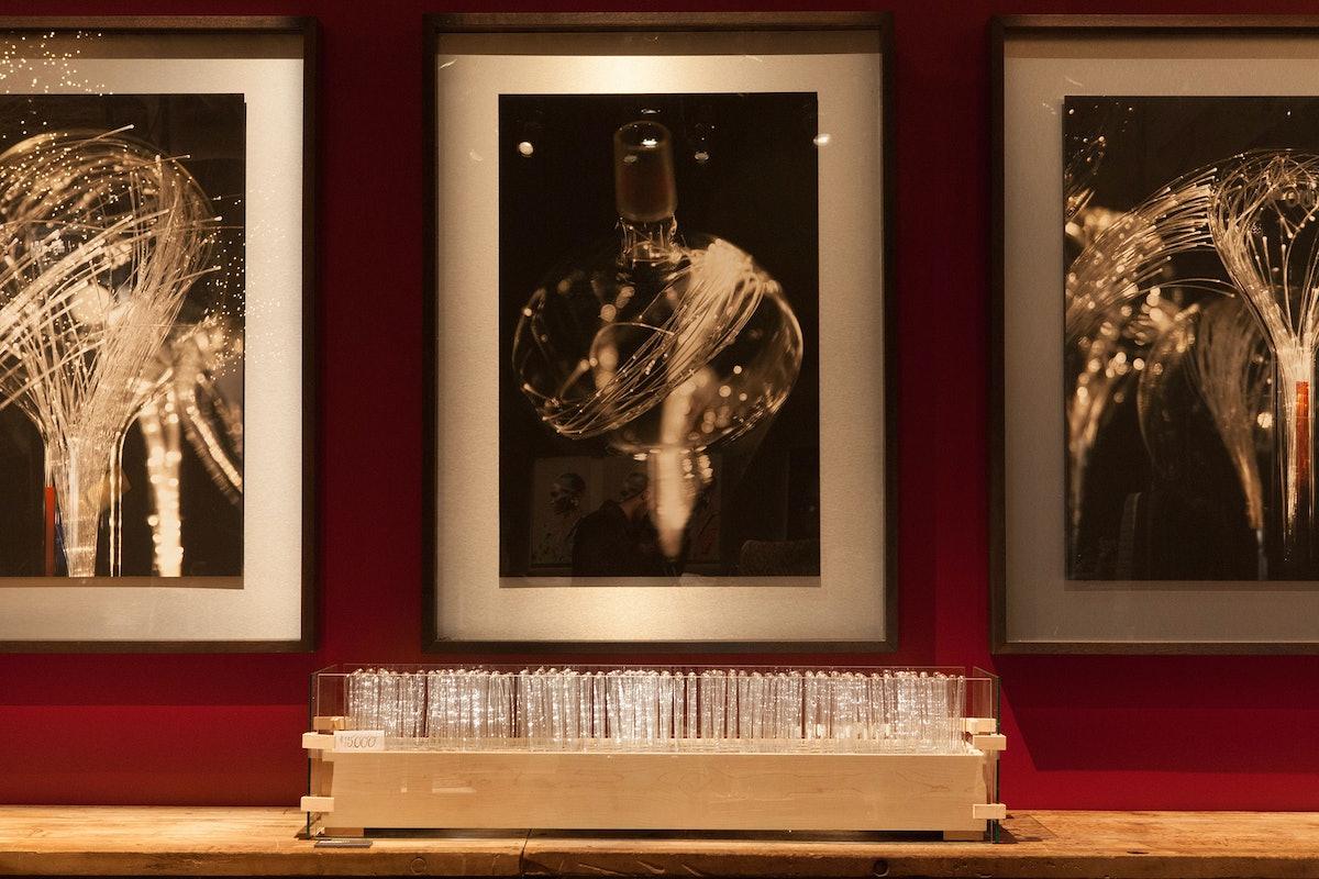 Elizabeth Jordan light sculptures