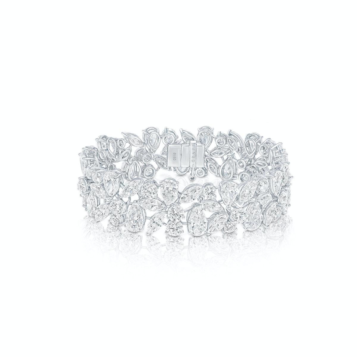 Graff platinum and diamond bracelet