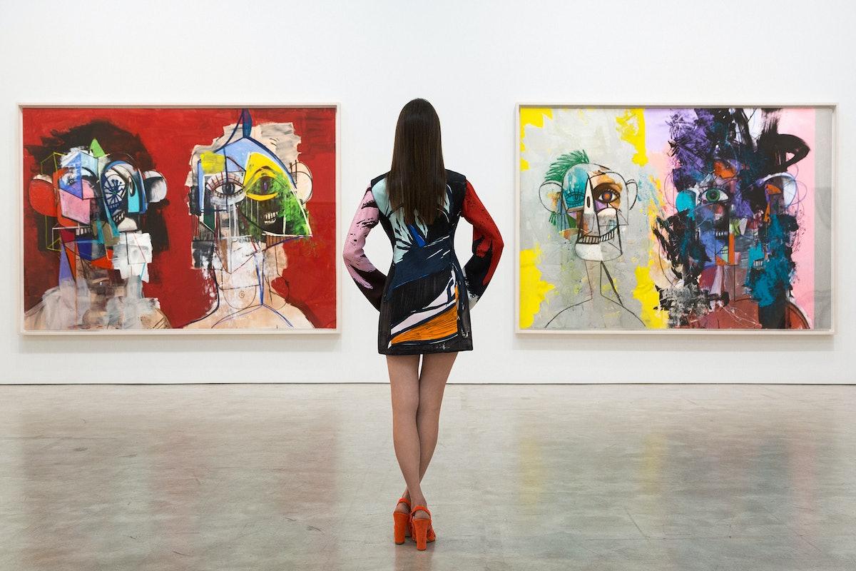 Pari Ehsan at Skarstedt Gallery