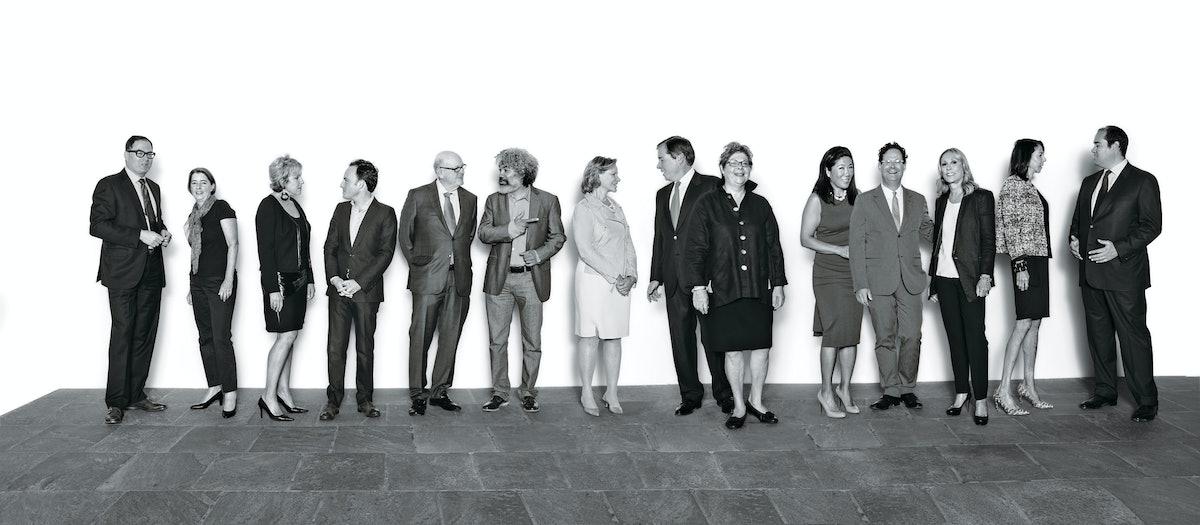 Whitney Museum of American Art gang