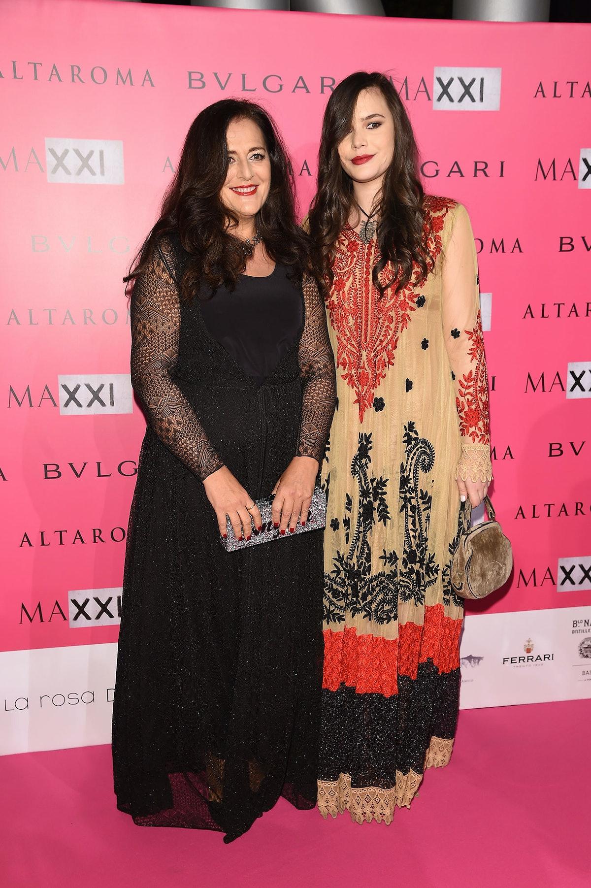 Angela Missoni and Teresa Missoni