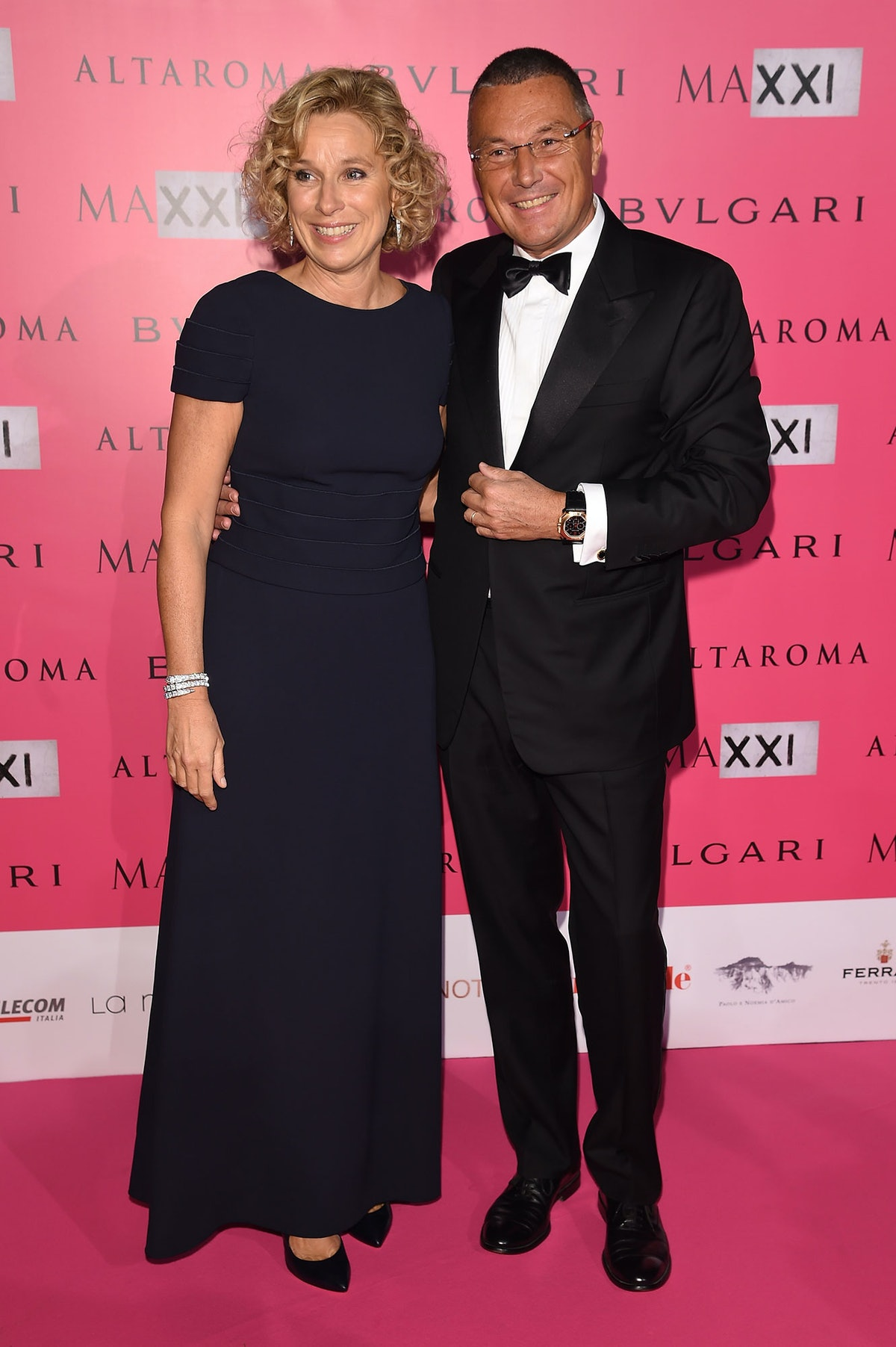 Giovanna Melandri and Jean Christophe Babin