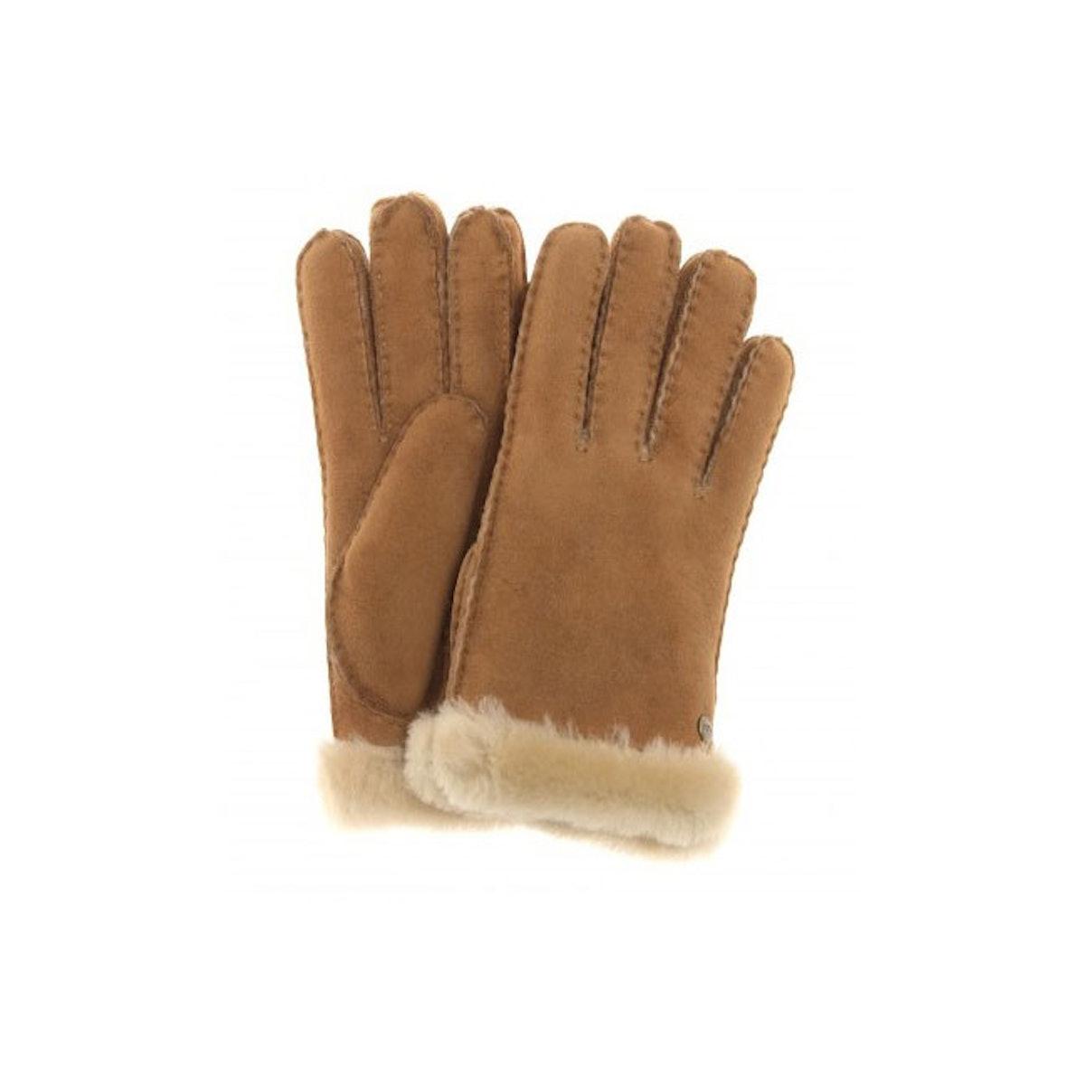 Ugg shearling gloves