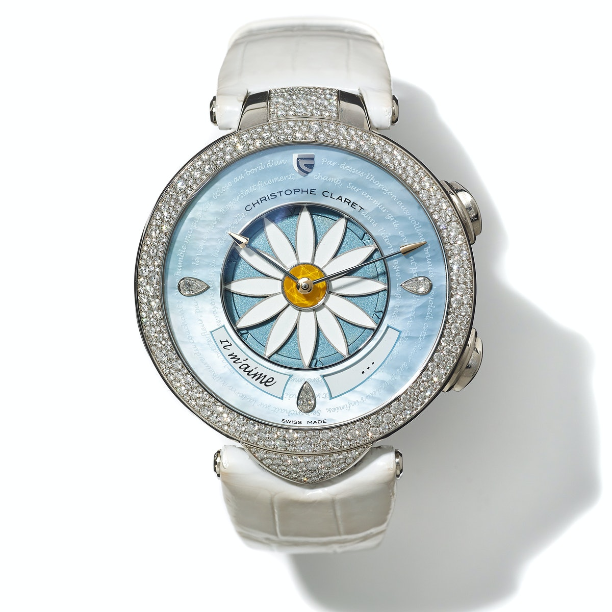 Christophe Claret gold and diamond watch