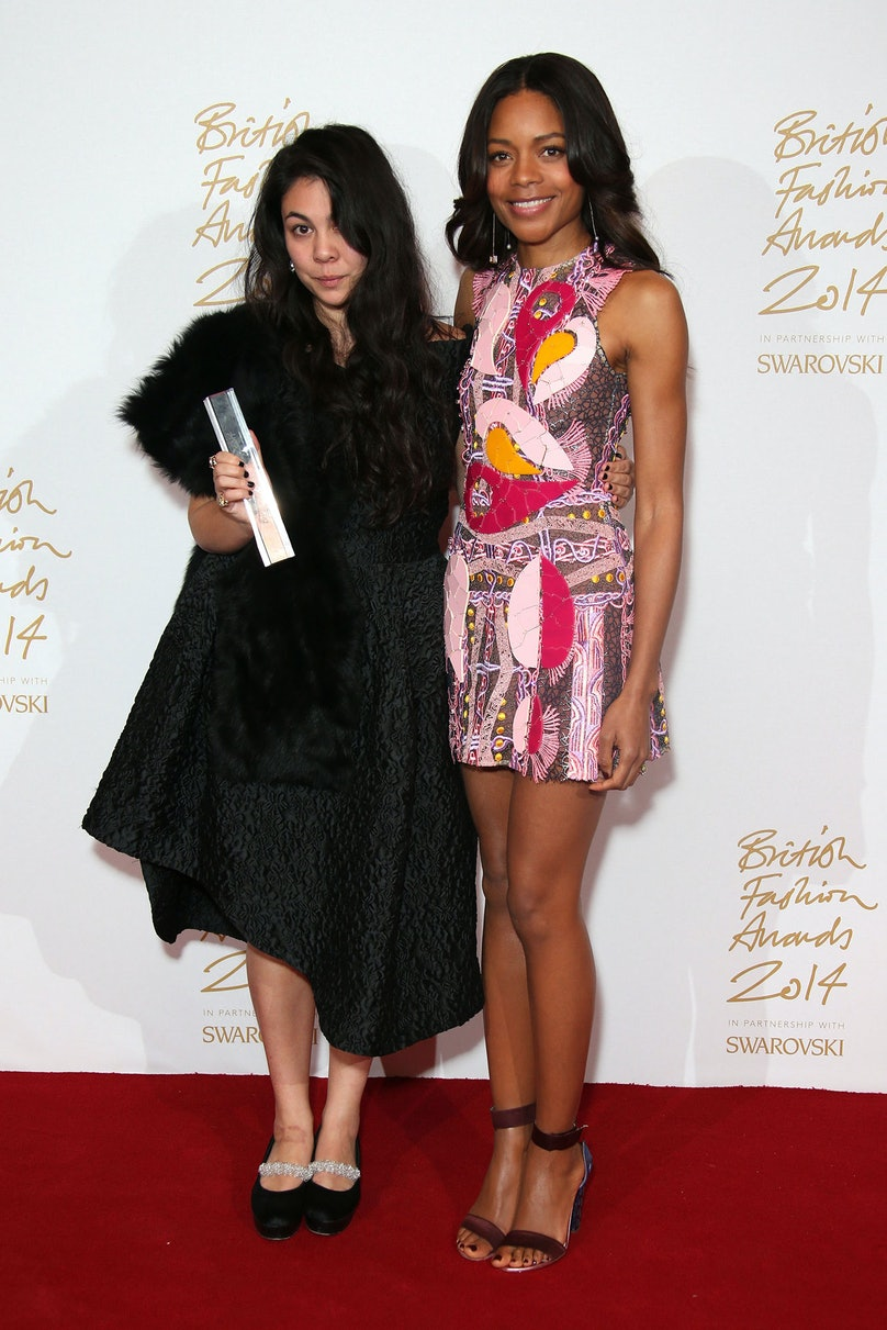 Simone Rocha and Naomie Harris