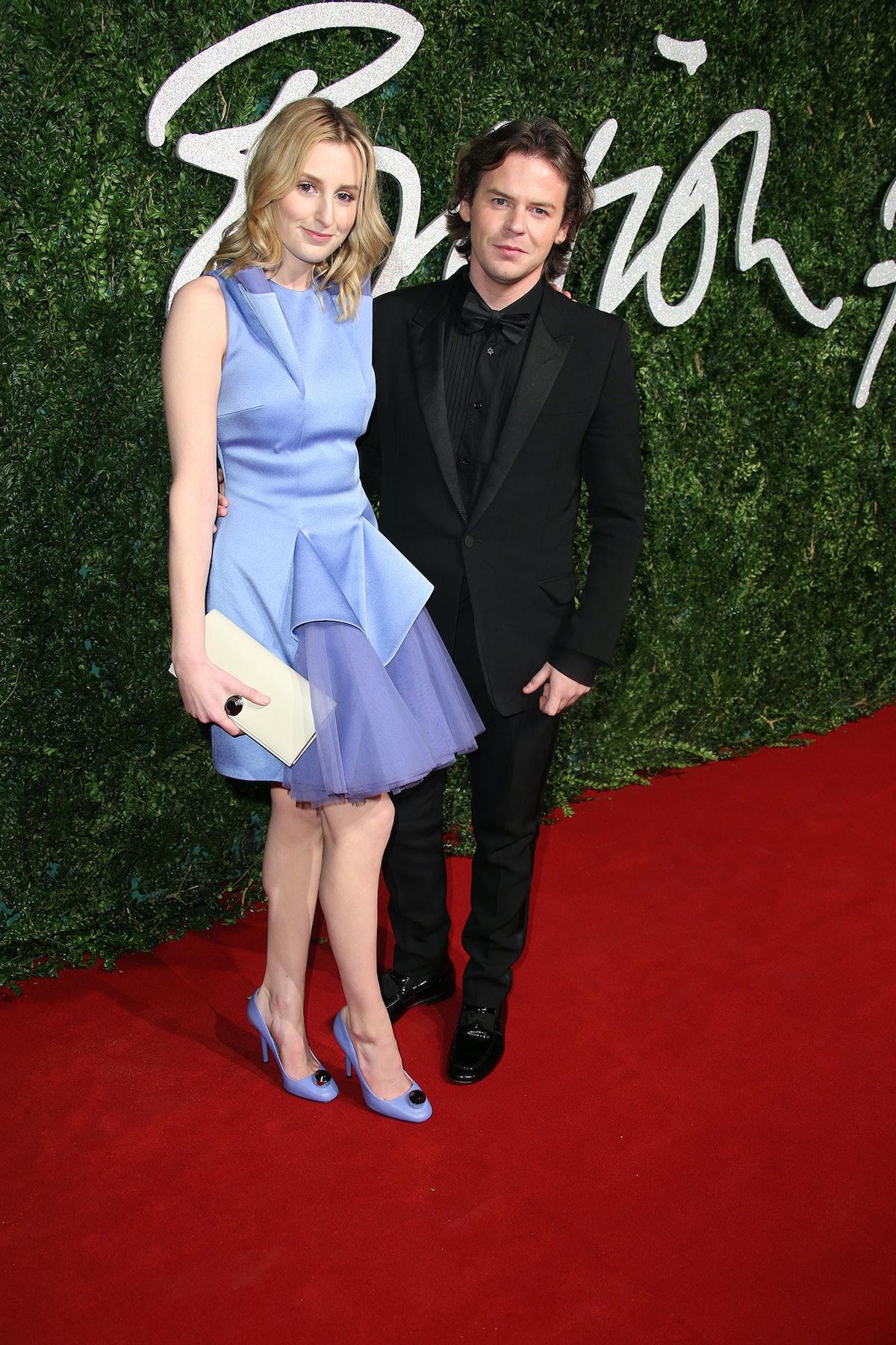 Laura Carmichael and Christopher Kane