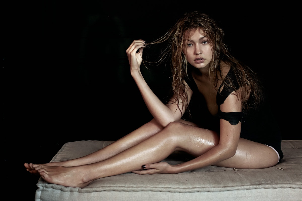 Gigi Hadid photographed by Kenneth Willardt