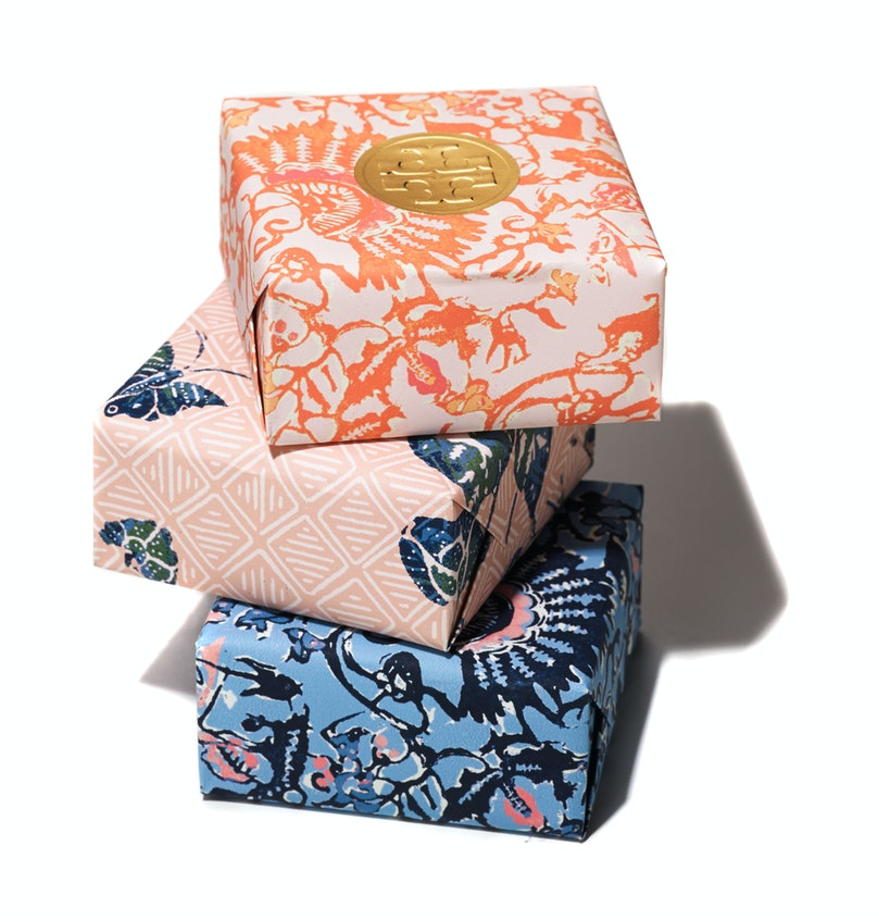 Tory Burch bath soap