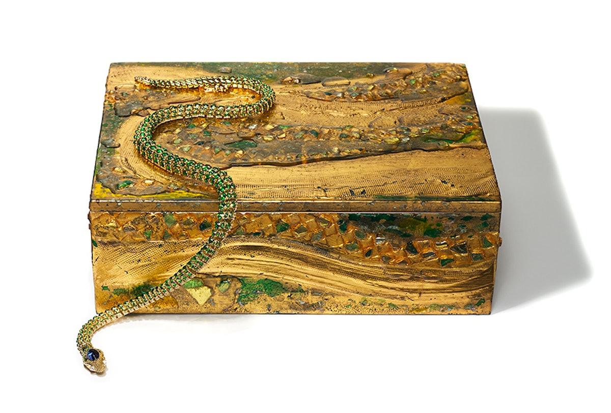 Temple St. Clair's Secret Garden Serpent necklace