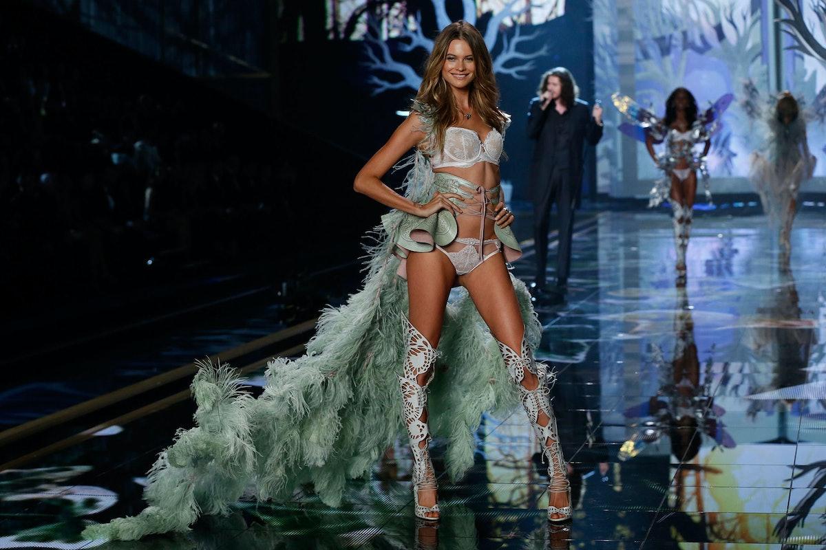 Behati Prinsloo walks in the 2014 Victoria's Secret Fashion Show