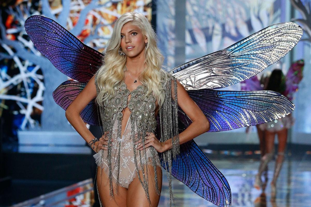 Devon Windsor walks in the 2014 Victoria's Secret Fashion Show