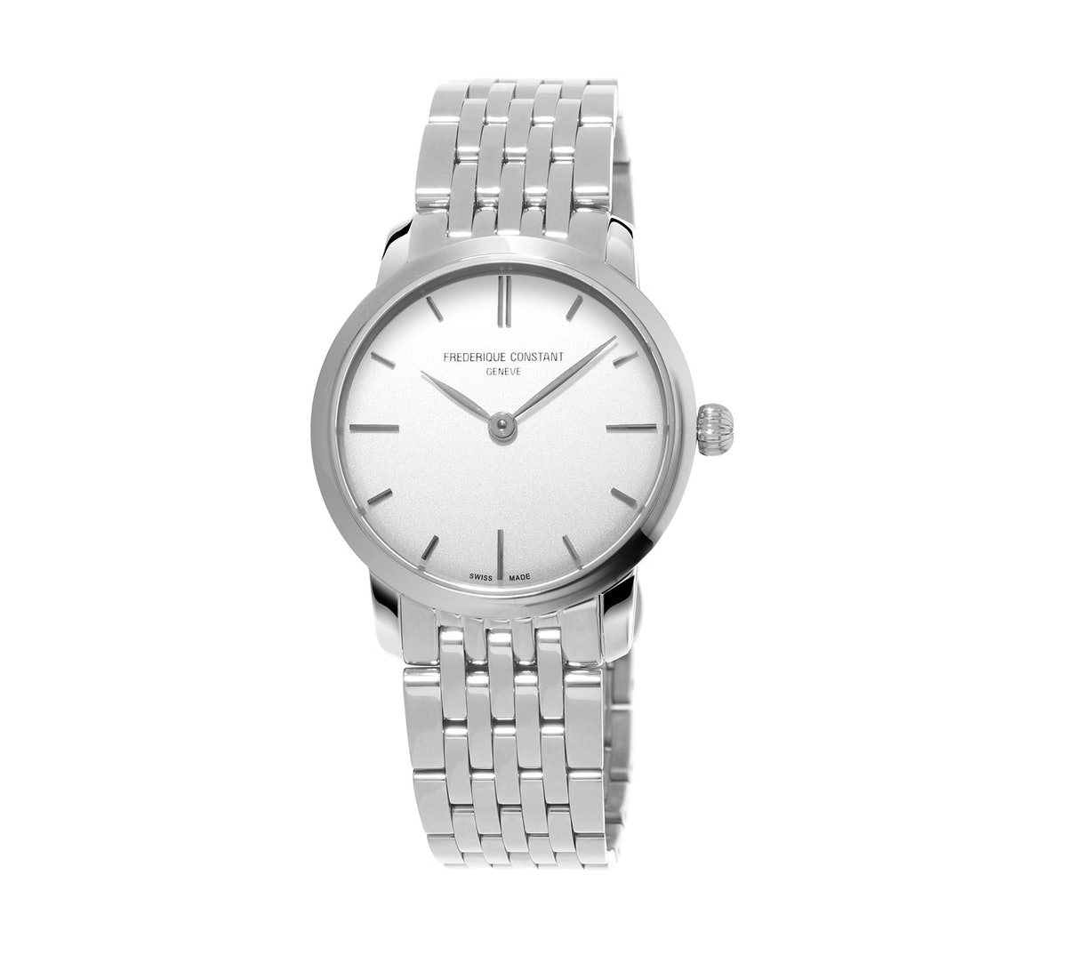 Frederique Constant stainless steel watch