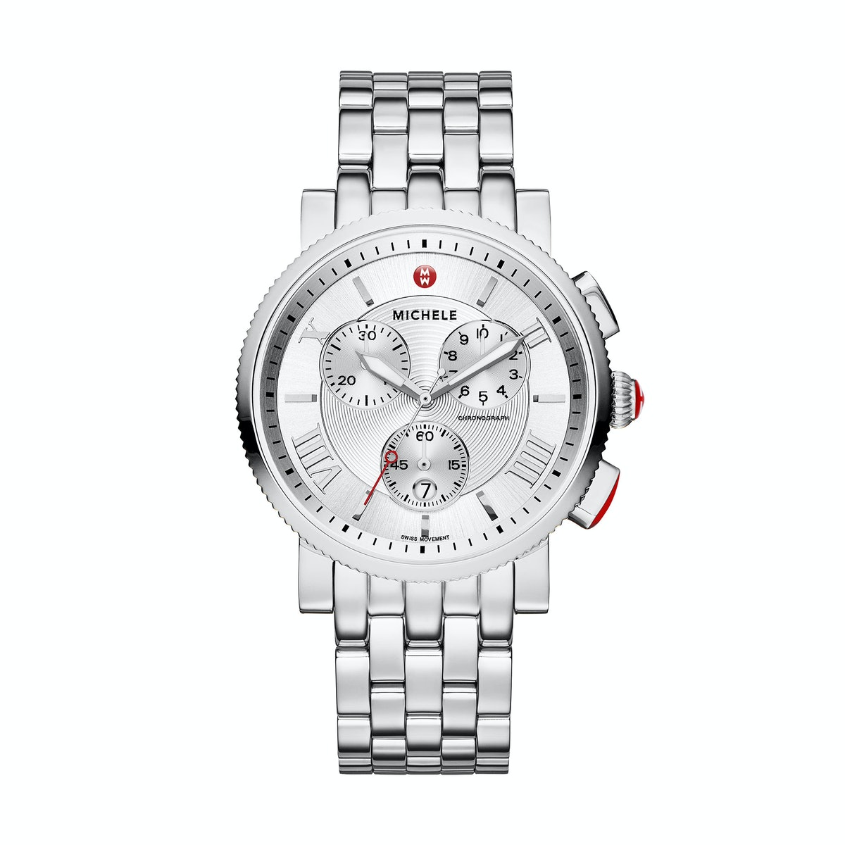 MICHELE stainless steel watch