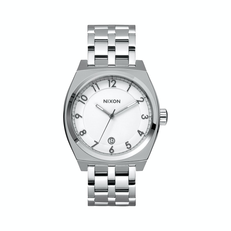 Nixon stainless steel watch