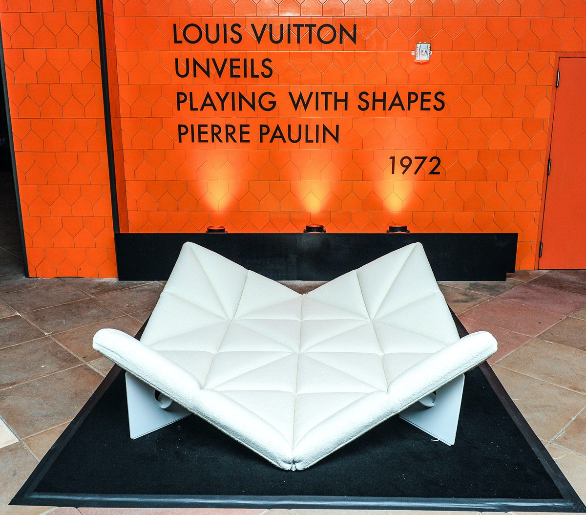 Louis Vuitton unveils Pierre Paulin's Playing with Shapes