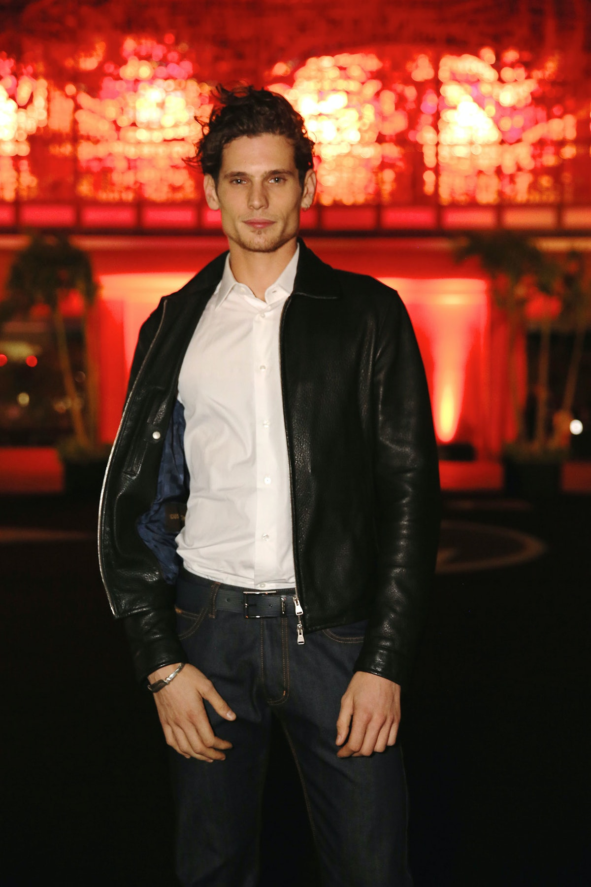 Jeremie Lahuerte attends Louis Vuitton's celebration of Pierre Paulin's Playing with Shapes