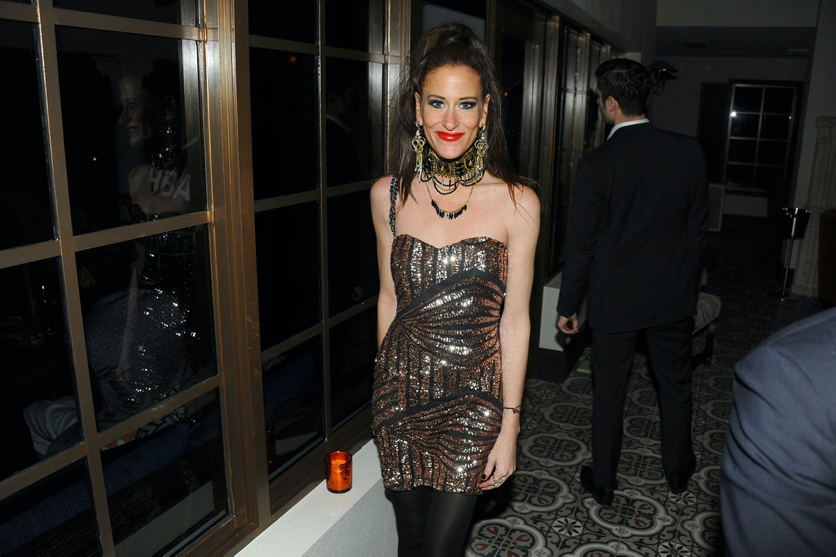 Stacy Engman attends the Dsquared and Performa Art Basel event