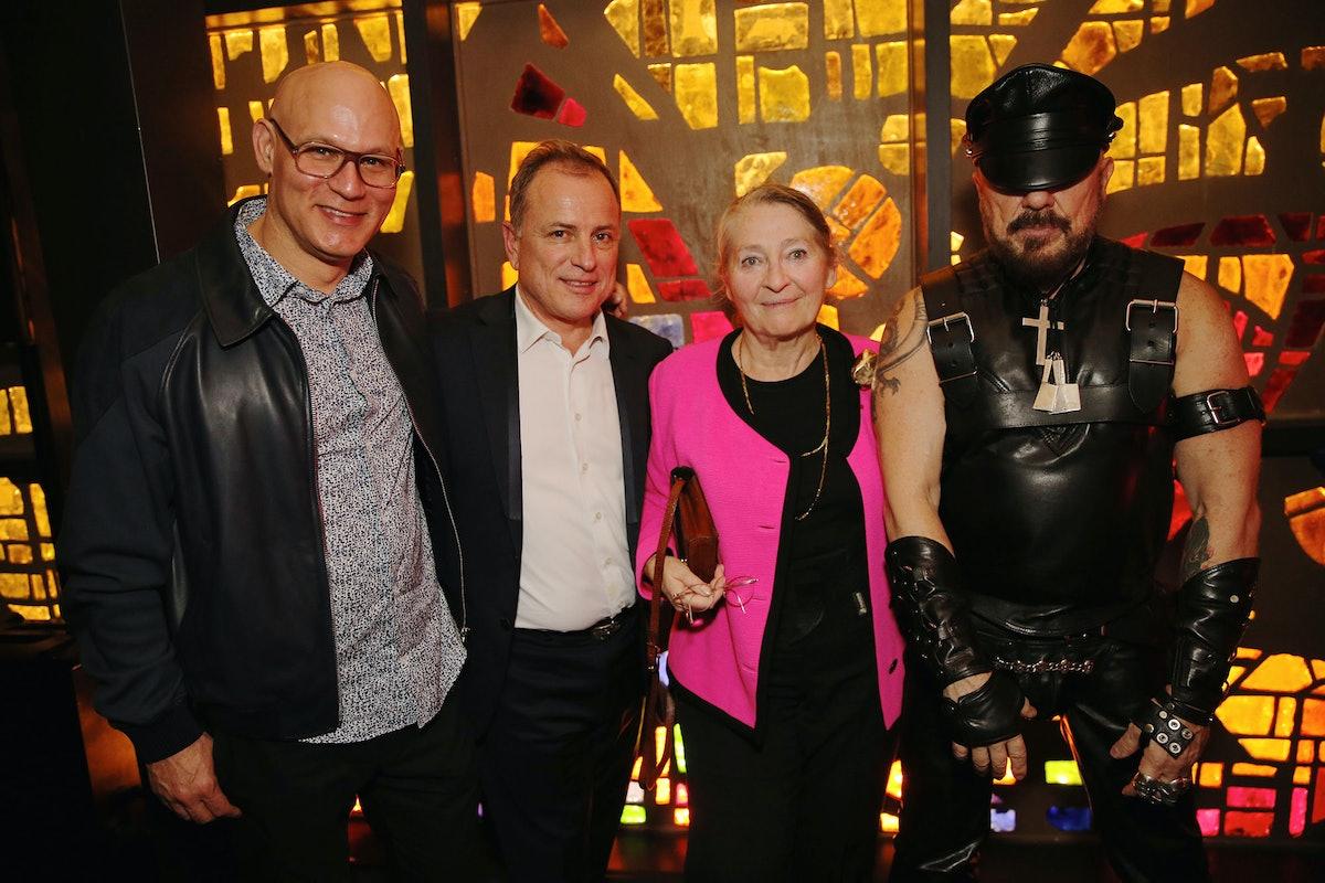 Craig Robin, Michael Burke, Maia Paulin, and Pete Marino