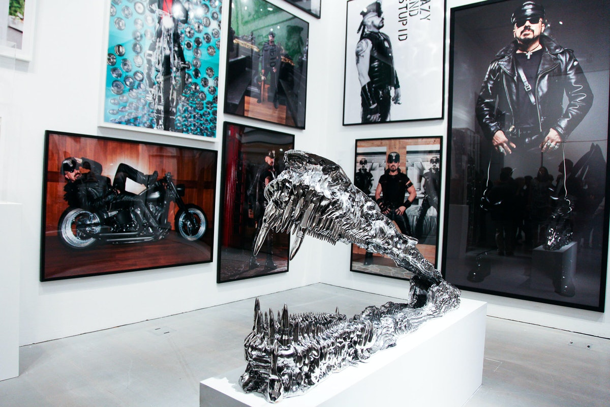 Peter Marino's exhibition at the Bass Museum of Art