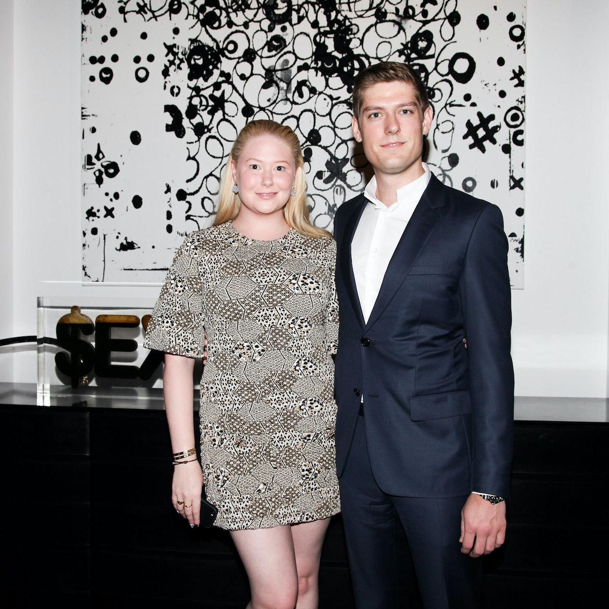 Isabelle Marino and Ryan Hoffman