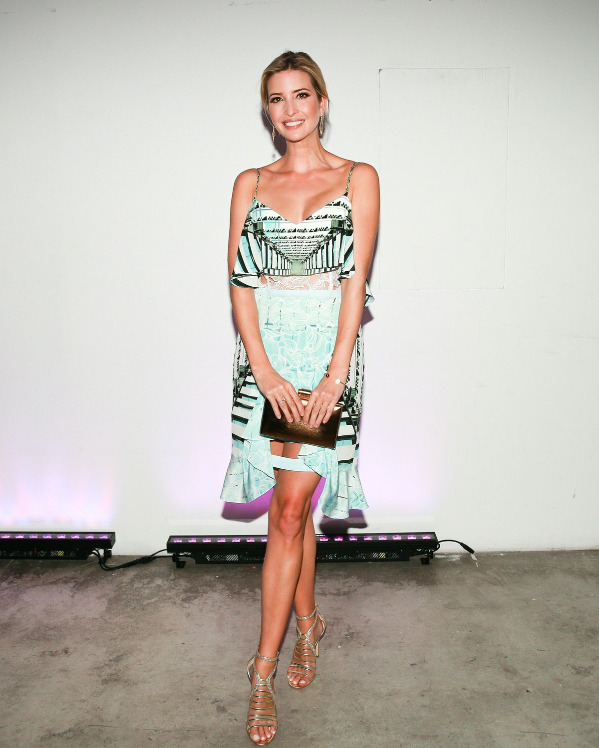 Ivanka Trump attends the Artsy dance party