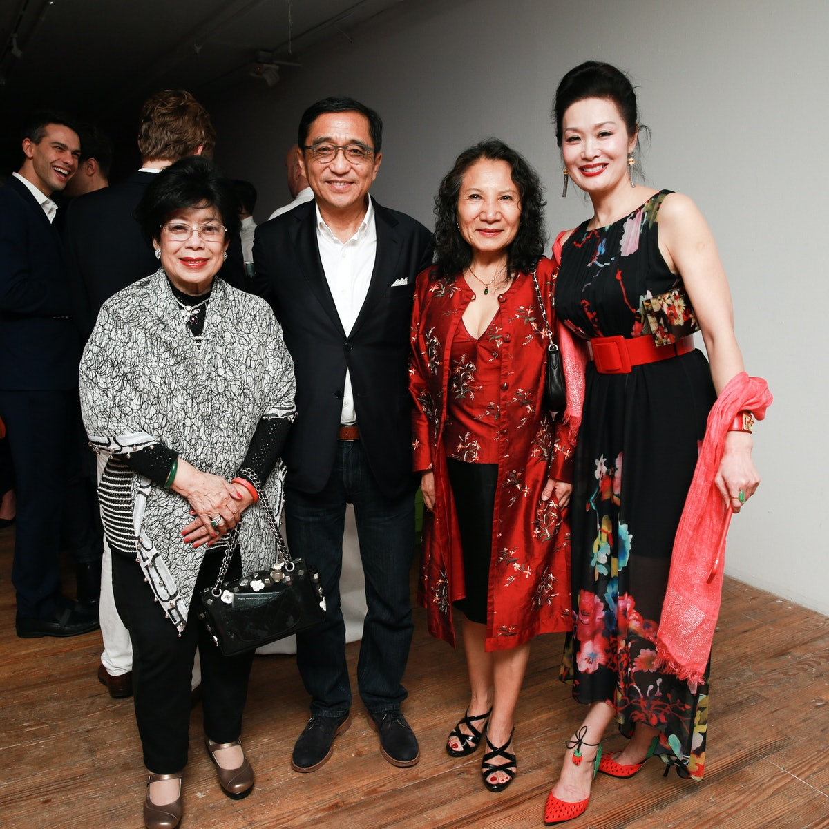 Silas Chou and guests