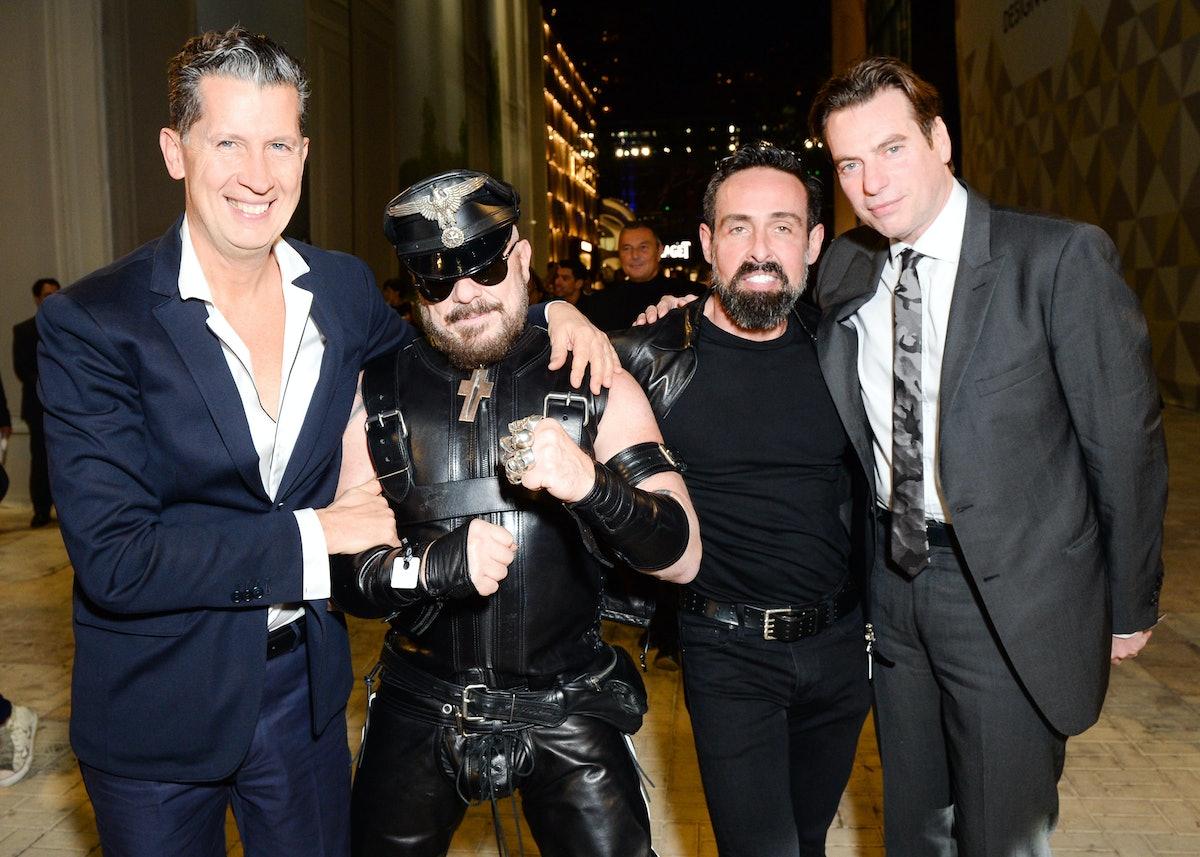 Stefano Tonchi, Peter Marino, Juan Carlos Fernandez, and David Maupin