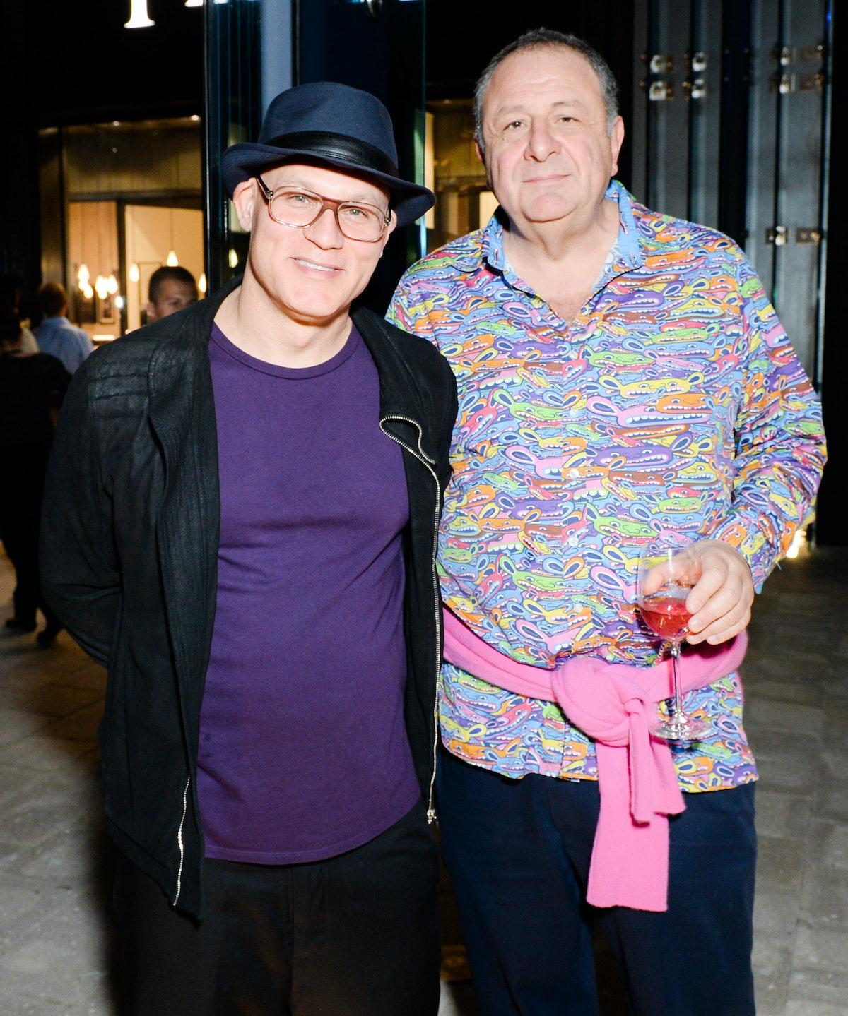 Craig Robins and Jean Pigozzi