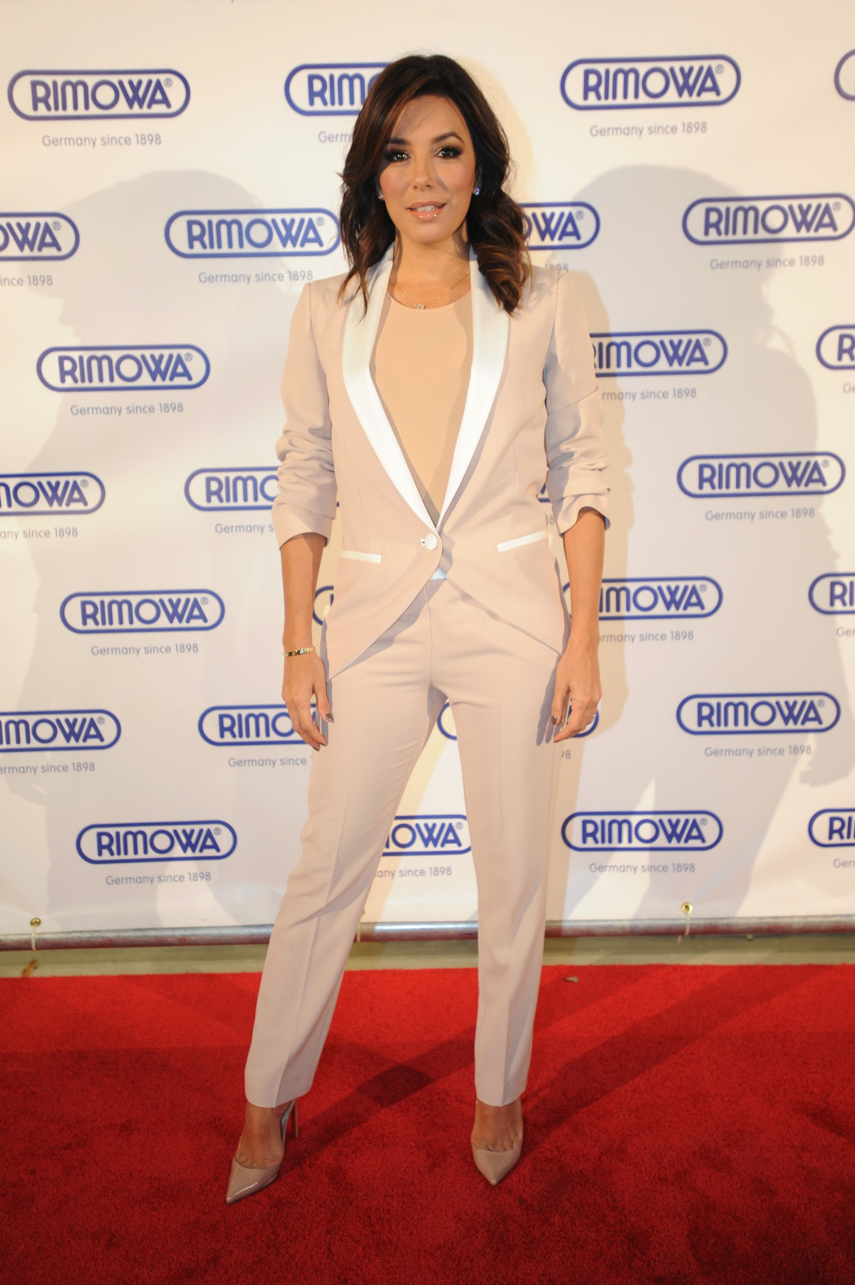 Eva Longoria attends the Rimowa store opening
