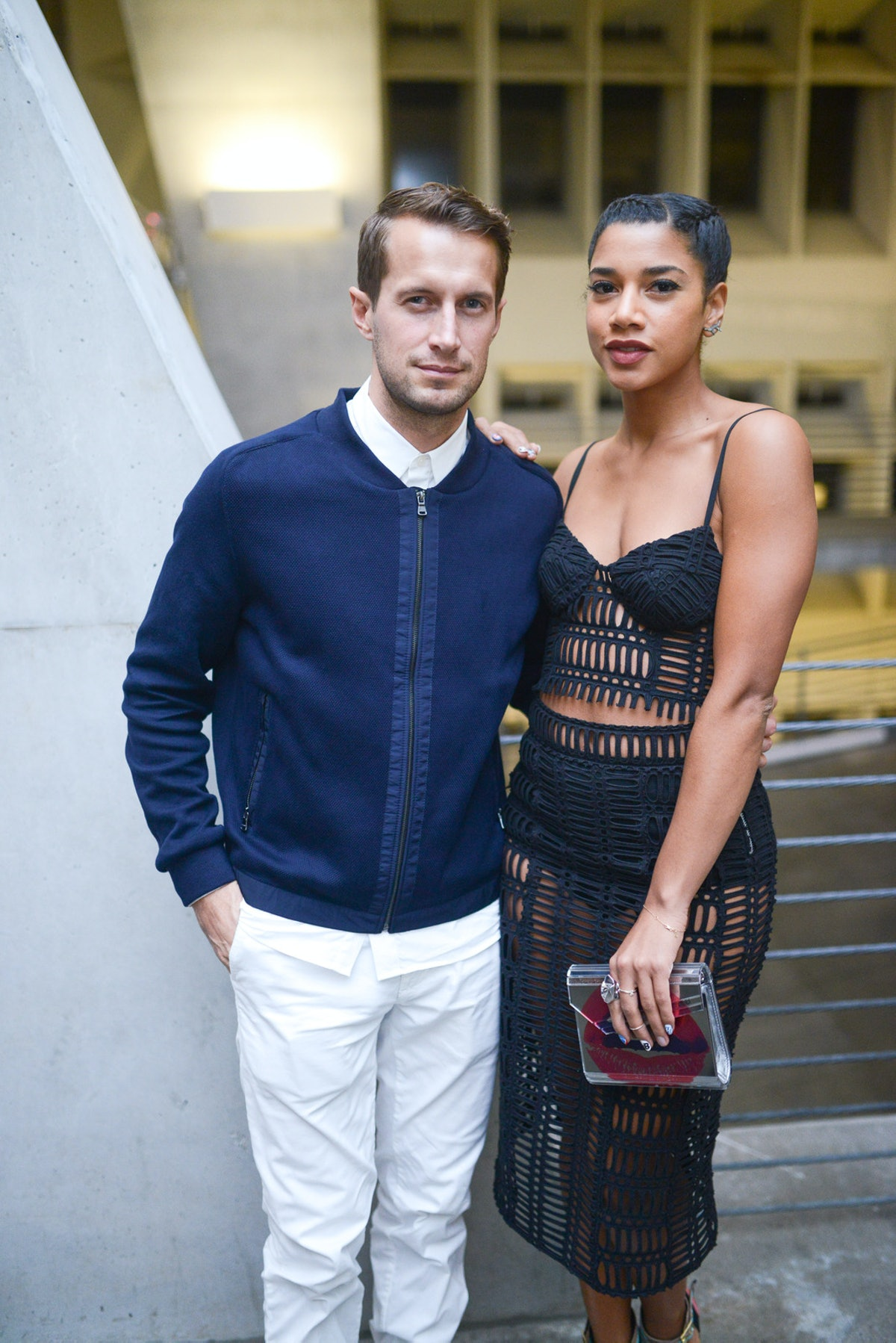 Brenden Fallis and Hannah Bronfman attend Sprout, HP, DKNY and Paper Magazine's Break The Internet I...