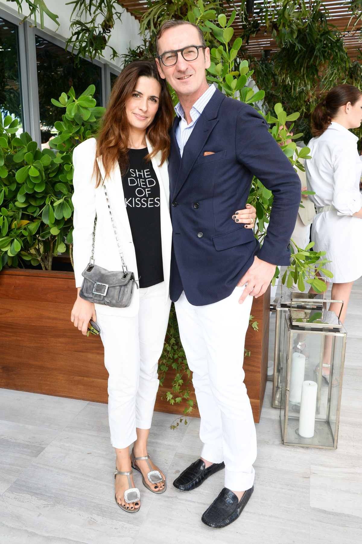 Livia Firth and Bruno Frisoni