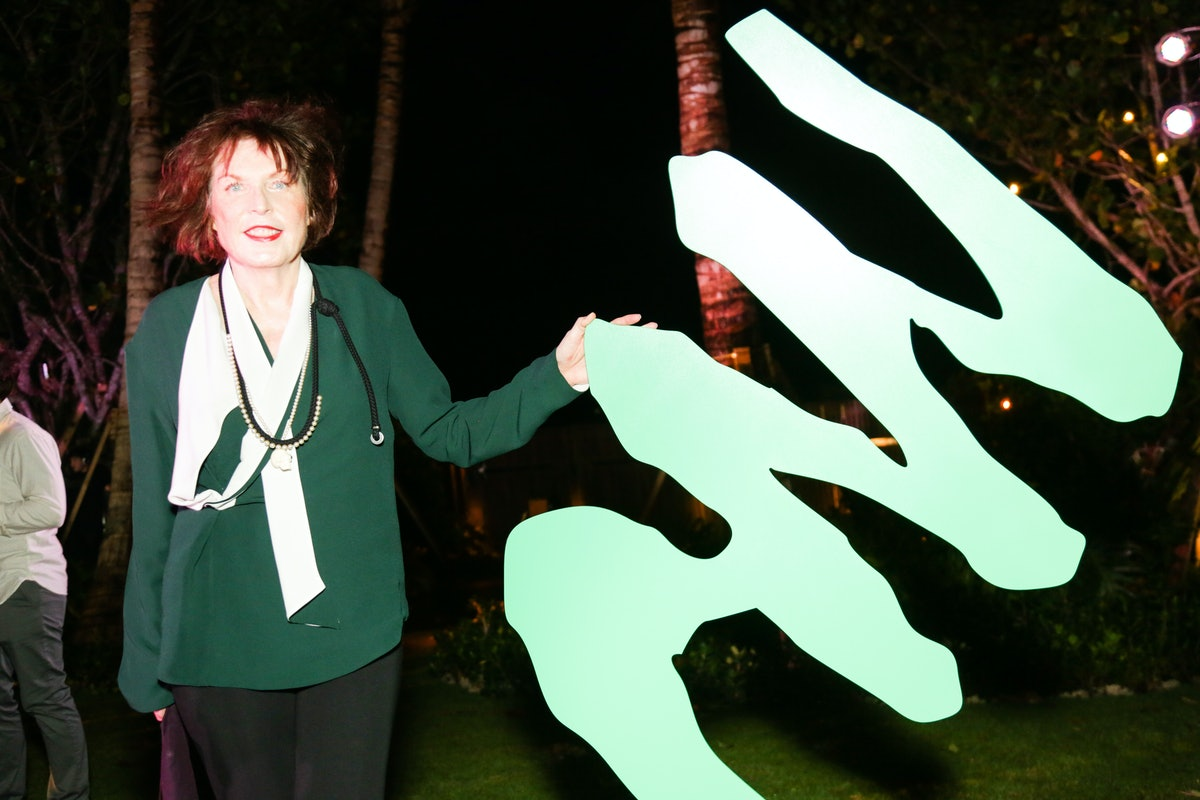 Marilyn Minter attends the Visionaire 64 Art John Baldessari party