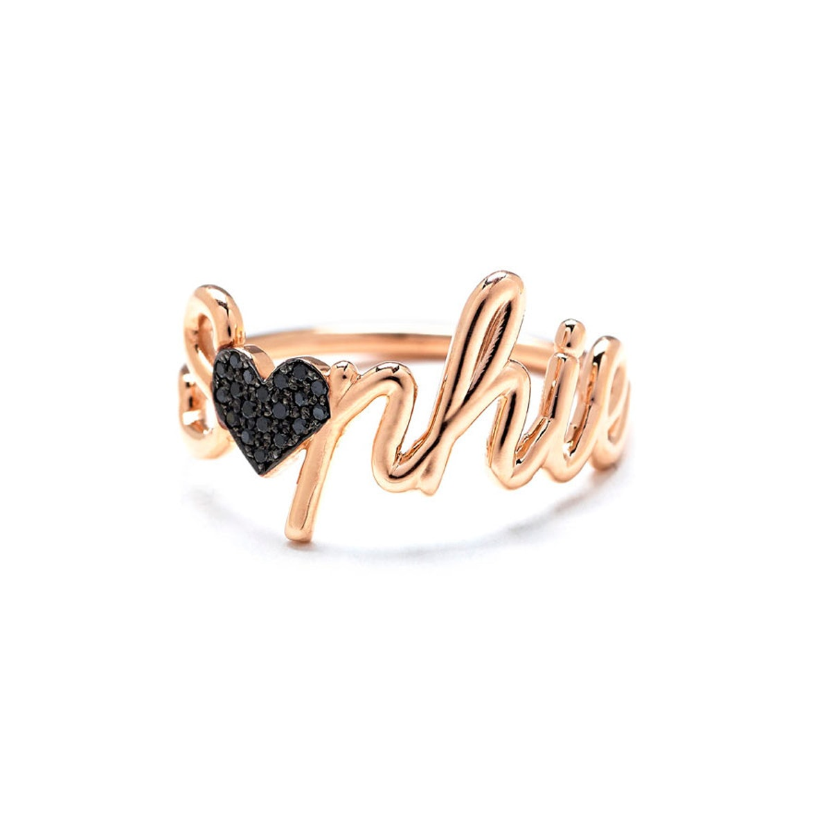 Thea by Emilie Duchene 18k gold custom ring