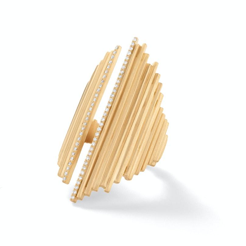 Monique Péan gold and diamond ring,