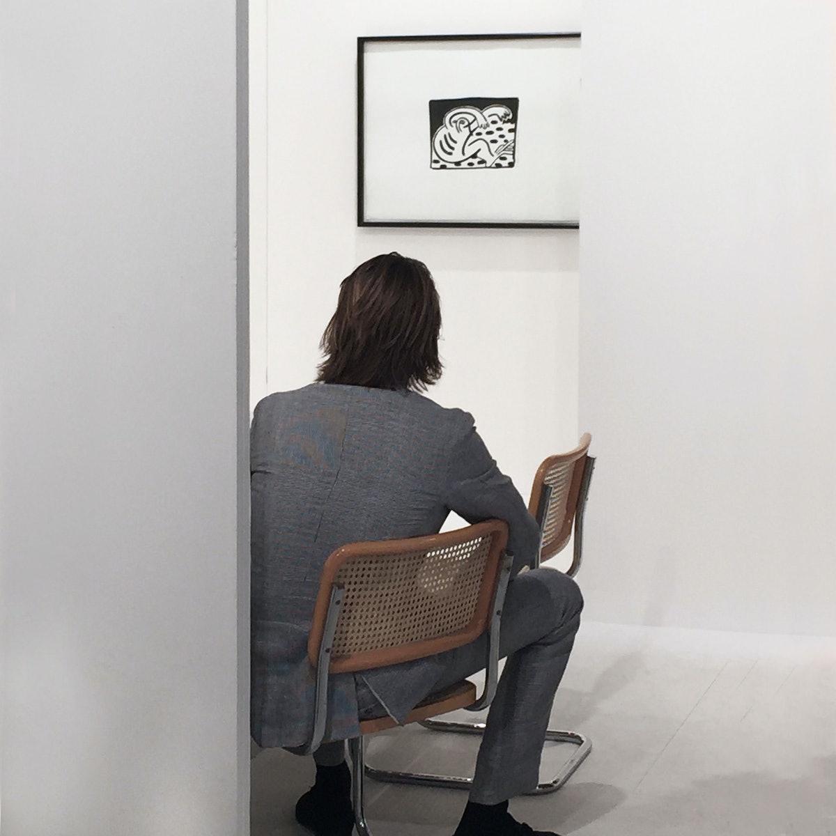 At Galerie Hans Meyer