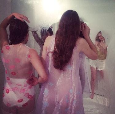Petra Collins's Wmag Art Basel Instagram Series