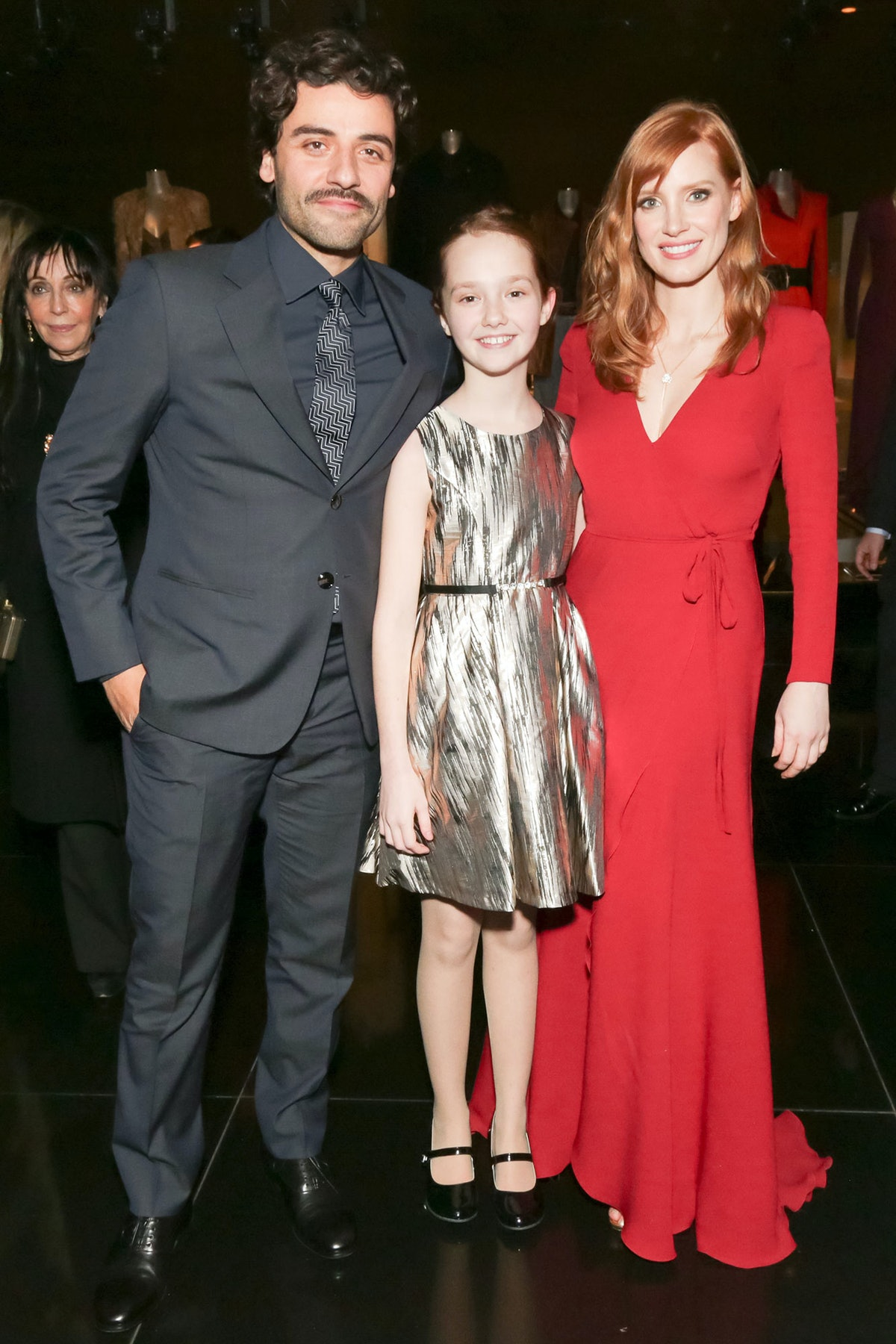 Oscar Isaac and Jessica Chastain