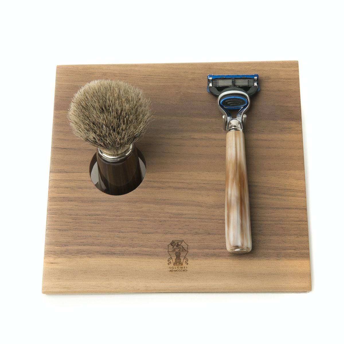 Brunello Cucinelli shaving set